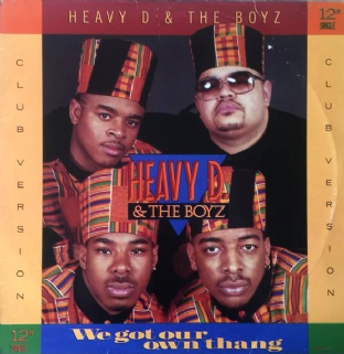 "Heavy D & The Boyz - We Got Our Own Thang (12"") (VG-/G++)"